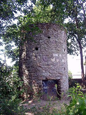La tour de l'Eraudière