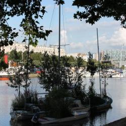 Canal Saint Félix, l'île flottante