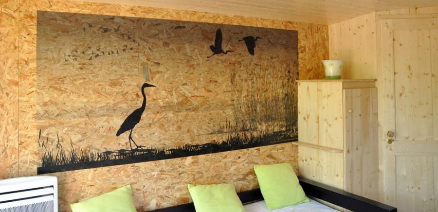 Bungaflot fresque murale