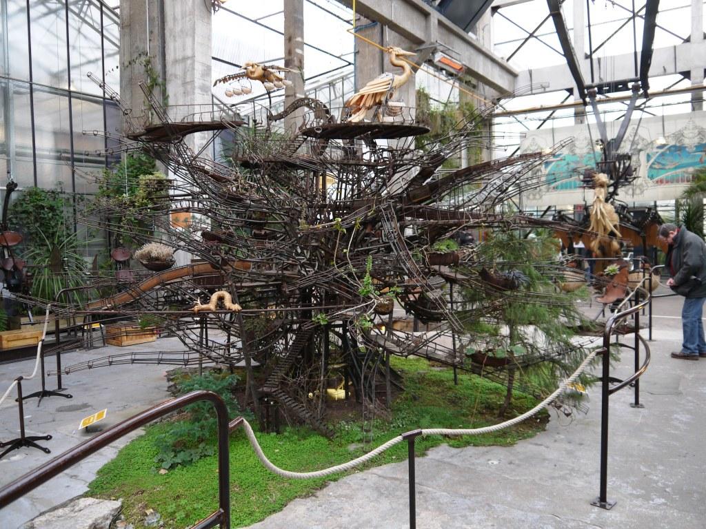 L'arbre aux hérons